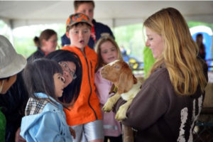 Children learning about animals