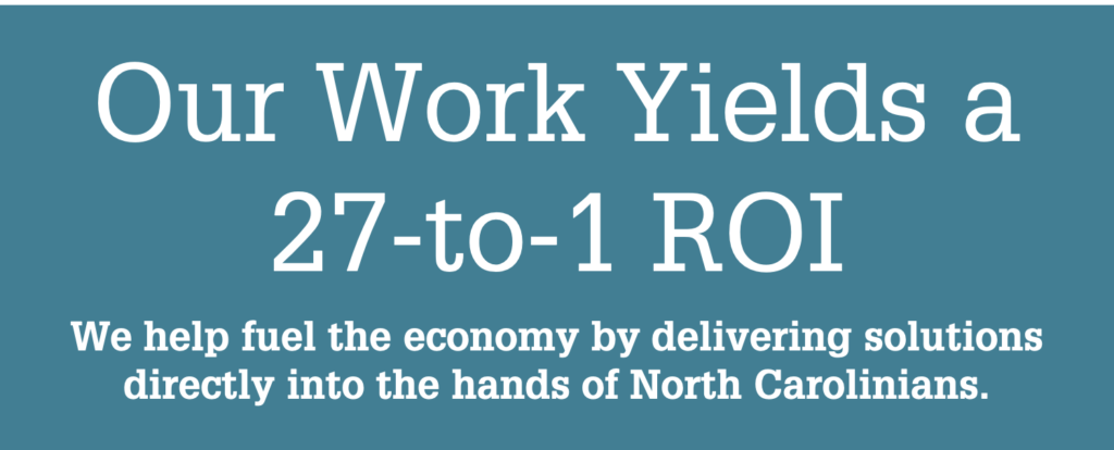 NC State Extension creates a 27-to-1 return on investment for our government investments